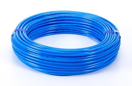Polietilén cső, kék