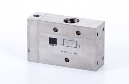 """3/2-es pneumatikus vezérlésű szelep, monostabil - G1/2"""" - INOX"""