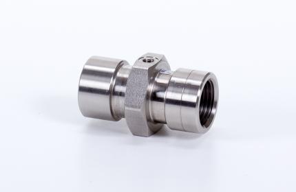 2/2-es pneumatikus vezérlésű GAMMA mini szelep - VITON, INOX