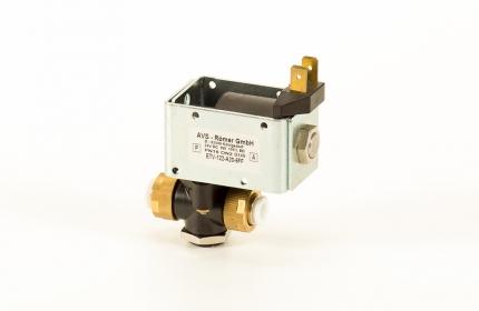 2/2-es elektromos vezérlésű MAGMA szelep - pif 6mm - 24 DC - VITON